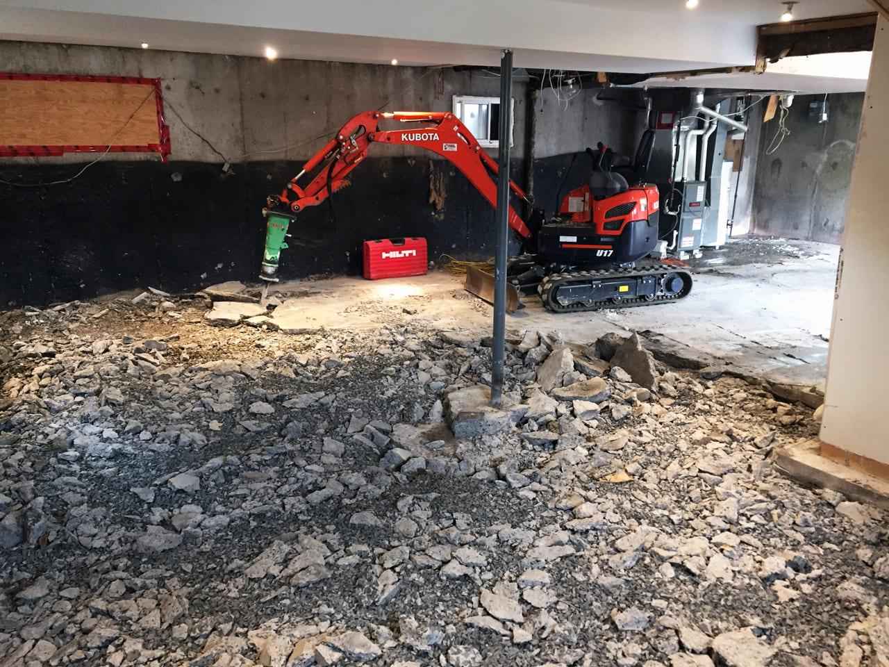 Fondasec Excavation - Demolition - P01