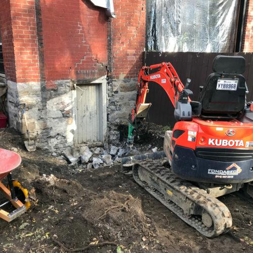 Fondasec Excavation - Demolition - P05