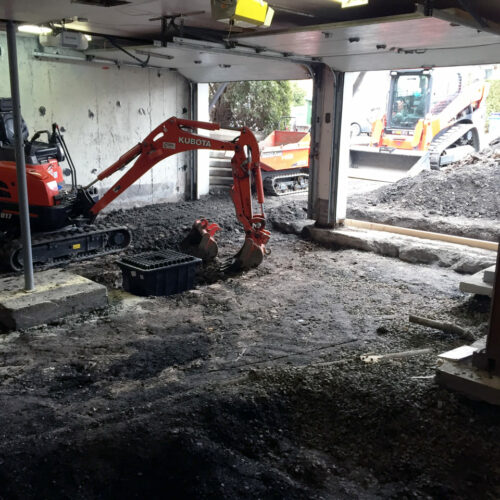 Fondasec Excavation - Pyrite Removal - Enlevement de Pyrite - P05
