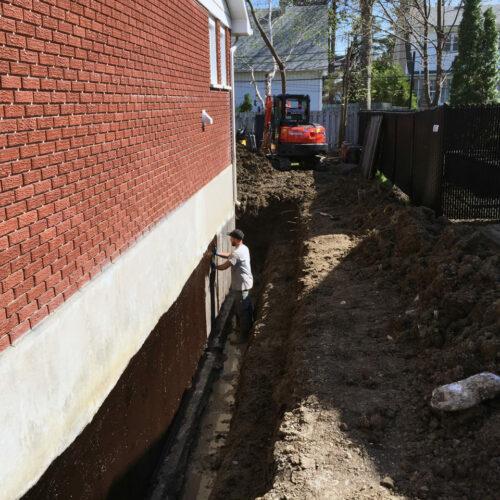 Fondasec Excavation - Waterproofing - Impermeabilisation - P01