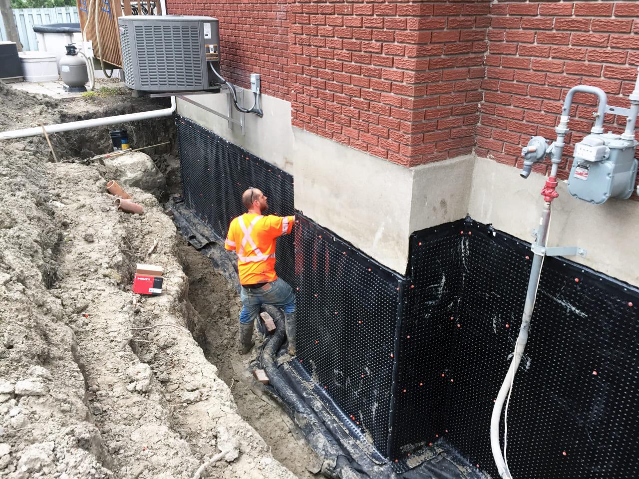 Fondasec Excavation - Waterproofing - Impermeabilisation - P02