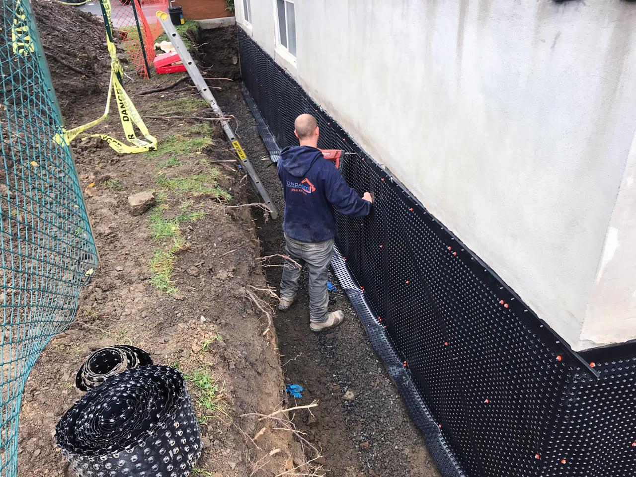 Fondasec Excavation - Waterproofing - Impermeabilisation - P04