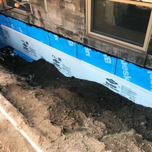 Fondasec Excavation - Waterproofing - Impermeabilisation - P07